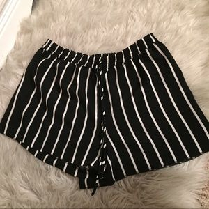 Forever 21 striped shorts (high waisted)